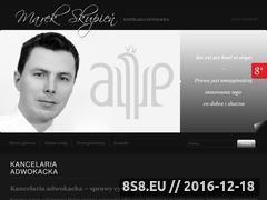 Miniaturka domeny www.adwokat-skupien.pl