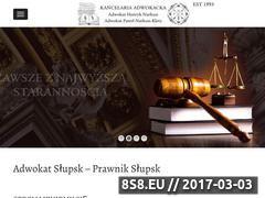 Miniaturka domeny adwokat-slupsk.com