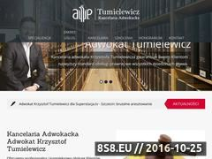 Miniaturka domeny adwokat-tumielewicz.pl