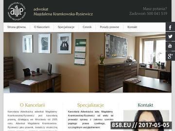 Zrzut strony Adwokat-wroclaw.eu