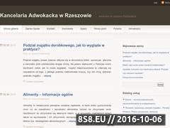 Miniaturka domeny www.adwokat.paskiewicz.eu