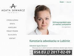 Miniaturka domeny www.adwokat.skwarcz.pl