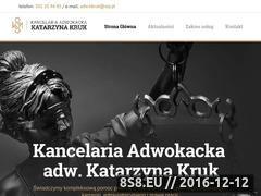 Miniaturka domeny adwokatchelm.pl