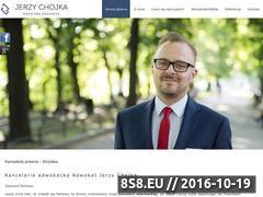 Miniaturka domeny www.adwokatchojka.pl
