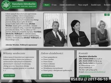 Zrzut strony Adwokat Wałbrzych