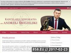Miniaturka domeny www.adwokatmecenas.pl