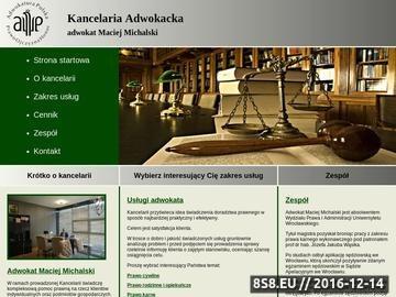 Zrzut strony Adwokat Legnica