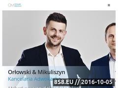 Miniaturka domeny adwokatorlowski.pl
