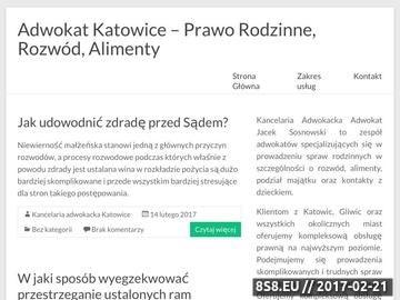 Zrzut strony Adwokat rodzinny Katowice