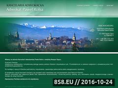 Miniaturka domeny www.adwokatrolka.pl