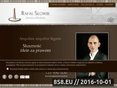 Miniaturka domeny adwokatslowik.pl