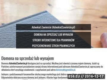 Zrzut strony JÓZEF W. GRZEBIELUCH prawnik
