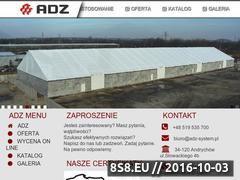 Miniaturka domeny adz-system.pl