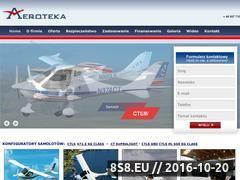 Miniaturka domeny www.aeroteka.pl