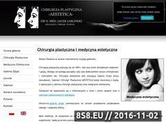 Miniaturka domeny www.aestetica.pl