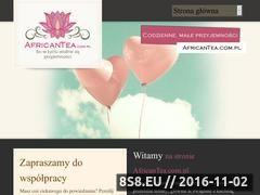 Miniaturka domeny www.africantea.com.pl