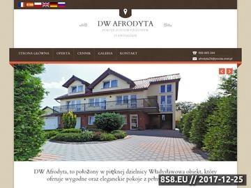Zrzut strony Pokoje Gościnne AFRODYTA - Władysławowo, Kwatery Władysławowo