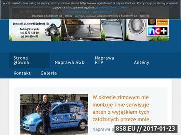 Zrzut strony Naprawa AGD, RTV - anteny TV i SAT Łomianki, Andrzej Wyszyński