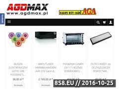 Miniaturka domeny www.agdmax.pl