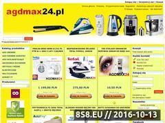 Miniaturka domeny www.agdmax24.pl