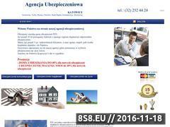 Miniaturka domeny www.agencja-ubezpieczeniowa.katowice.pl
