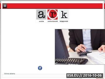 Zrzut strony Biuro rachunkowe Łódź