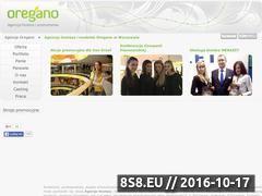 Miniaturka domeny www.agencjaoregano.pl