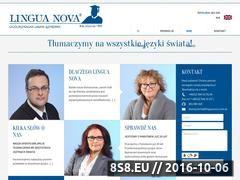 Miniaturka domeny agencjatlumaczen.com.pl