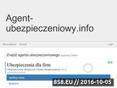 Miniaturka domeny agent-ubezpieczeniowy.info
