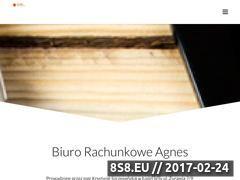 Miniaturka domeny agnes-ksiegowosc.pl