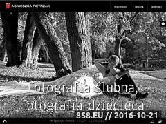 Miniaturka domeny www.agnieszka-pietrzak.pl