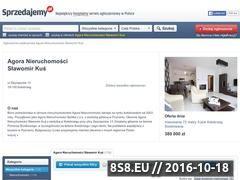 Miniaturka domeny agora-nieruchomosci.sprzedajemy.pl