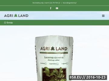 Zrzut strony Agri Land - Lucerna Siewna