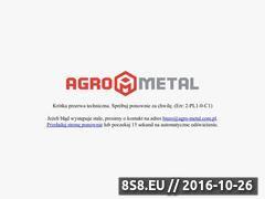 Miniaturka domeny www.agro-metal.com.pl