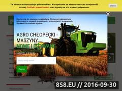 Miniaturka domeny agrochlopecki.eu
