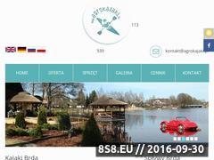Miniaturka domeny www.agrokajaki.pl