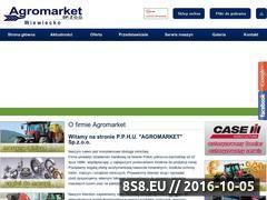 Miniaturka domeny www.agromarketwiewiecko.pl