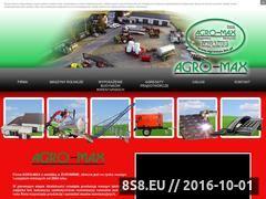 Miniaturka domeny agromax.biz.pl