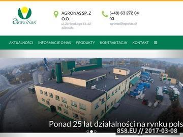Zrzut strony Producent mieszanek traw - PPH Agronas