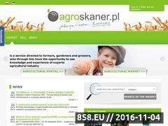 Miniaturka domeny www.agroskaner.pl
