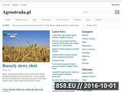 Miniaturka domeny www.agrostrada.pl