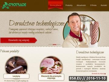 Zrzut strony Stabilizatory spożywcze Agrotrade