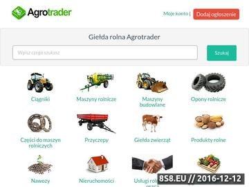 Zrzut strony Maszyny rolnicze