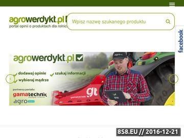 Zrzut strony AgroWerdykt - Portal Rolniczy