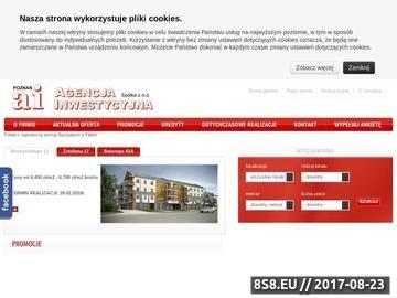 Zrzut strony AI Sp. z o. o. - mieszkania Poznań