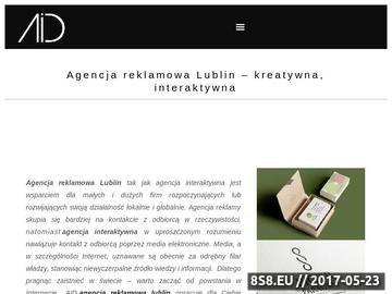 Zrzut strony Projektowanie graficzne, tworzenie stron WWW i pozycjonowanie