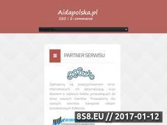Miniaturka domeny www.aidapolska.pl