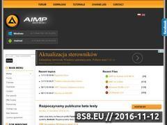 Miniaturka AIMP.com.pl - Polski Oficjalny Support AIMP2 (www.aimp.com.pl)