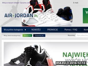 Zrzut strony Buty męskie i damskie Nike Air Jordan