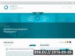 Miniaturka domeny www.airit.pl